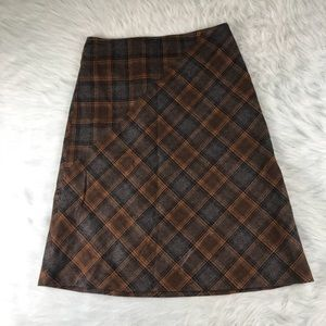 Women's Willi Smith Wool Skirt Size 14